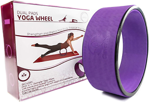 stretching yoga wheel  supports warm ups poses