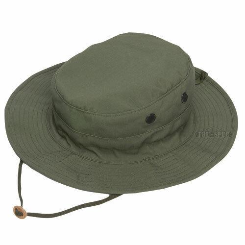 Tru-Spec 3310000 Mens OSFM OD Green Rip-Stop Gen-II Adjustable Boonie Hat
