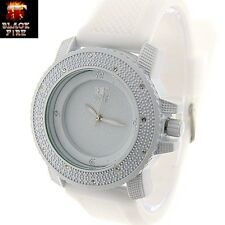 """LADIES """"BLACK FIRE WATCH"""" DESIGNER STYLE ICE NATION WATCHES BRAND NEW STYLE #102"""