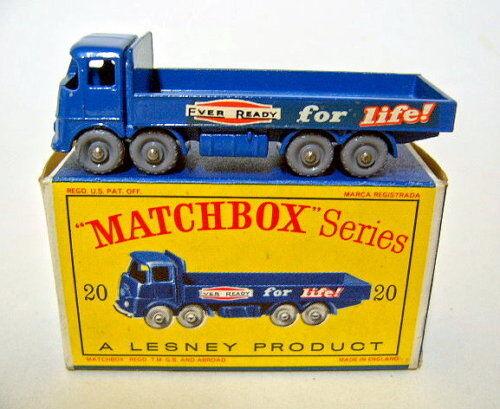Matchbox RW 20b ERF Camion bleu neuf dans  D  BOX