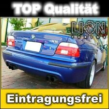Heckstoßstange Heckschürze 5er BMW E39 M5 Look Stoßstange hinten ohne PDC