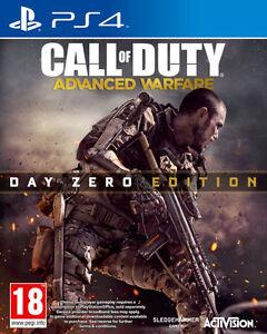 Call-of-Duty-Advanced-Warfare-PS4-DAY-ZERO-ed-Menta-1st-Class-consegna-veloce