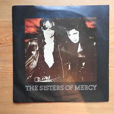 """Sisters of Mercy - This Corrosion 7"""" single (1987) VG+/VG+ Damont pressing"""