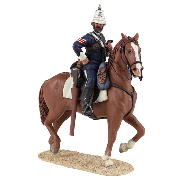 W Britain 20169 - Natal Carbineer Sergeant Mounted No.1 - 2 Piece Set
