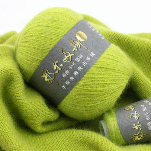 50+20g Erdos Yarn Hand Knitting 100/% Cashmere Solid Color Extremely Soft 40color