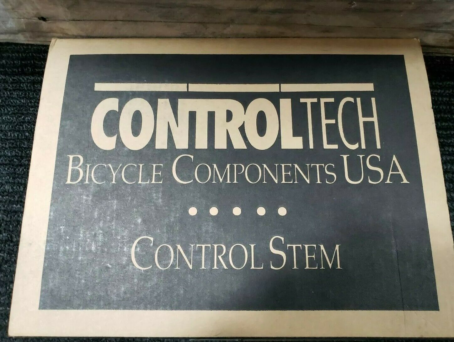 Control Tech 135MM Control Stem NOS
