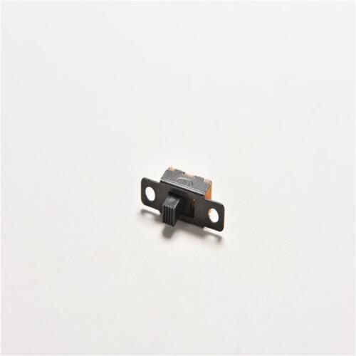 20 stücke 5 V 0,3A Schwarz Mini Größe SPDT Schiebeschalter Ein-Aus 3-Pin PCB DJ