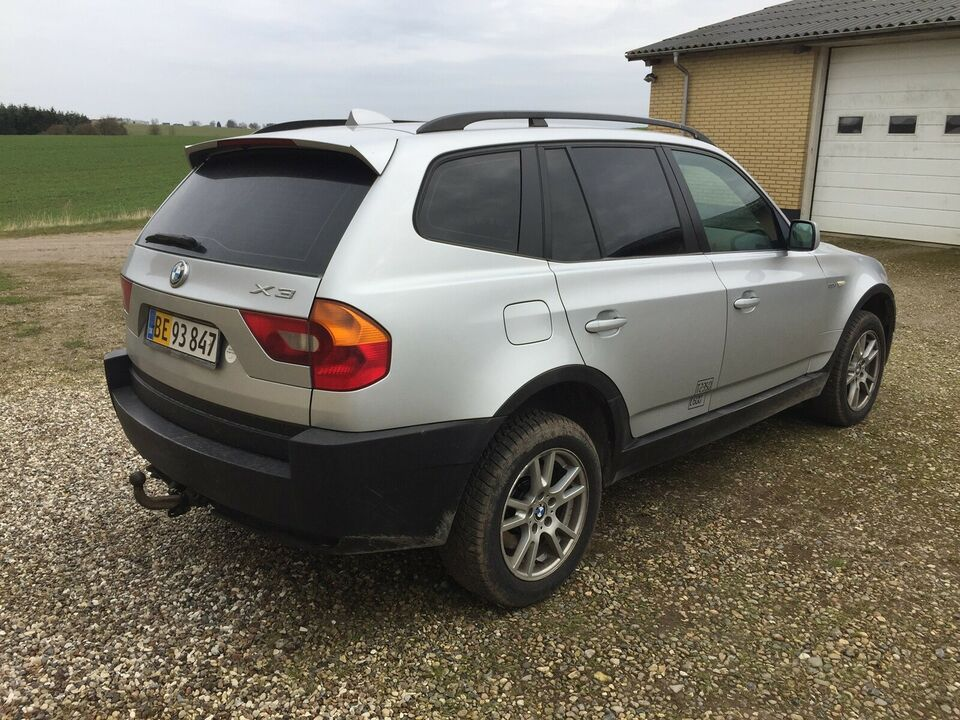 BMW, X3, 3,0 D Steptr. Van