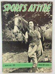 1941 Chadwick S Wools Catalog Knitting Women S Sports