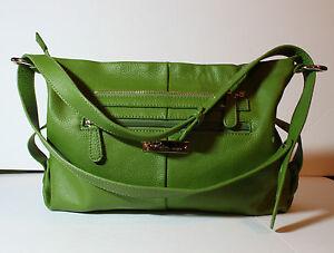 Raisa-by-Heys-Green-Leather-Hobo-Handbag-Shoulder-Purse