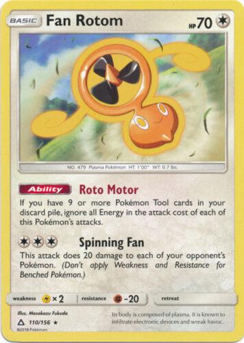 Ultra Prism Fan Rotom 110//156 Rare Card NM 2x Pokemon SM