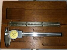 Brown Amp Sharpe 599 579 14 Dial Caliper Ss Yellow Face 0 150mm Calibrated