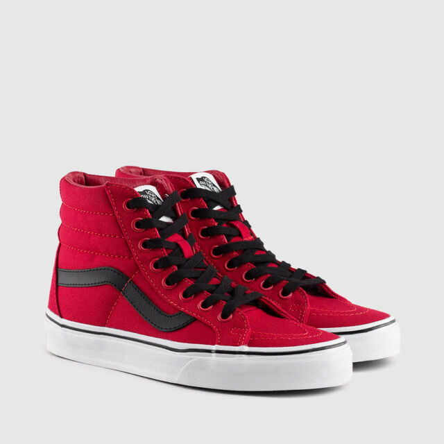 aaf9bbf0f1f7 ... for whole family ee33a 53af1 Brand New VANS SK8 HI REISSUE CANVAS CHILI  PEPPER SZ US ...