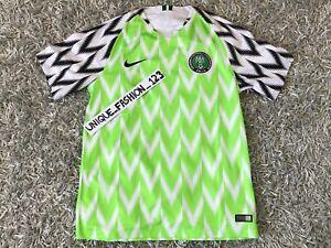 297250f4b La imagen se está cargando Nike-Nigeria-Copa-del-Mundo-2018-Home-Jersey-