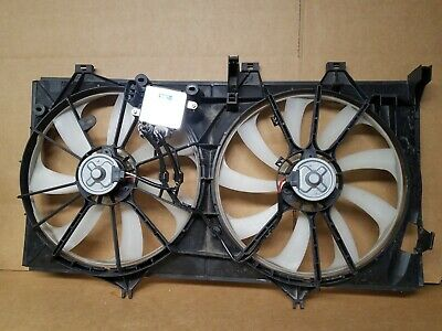 Radiator And Condenser Fan For Toyota Avalon Lexus ES350 TO3115170