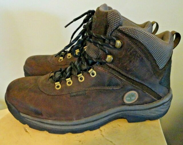 Mid Boots Waterproof Ledge High Timberland Size Mens Brown White Hiking 12135 12 bY76gfy