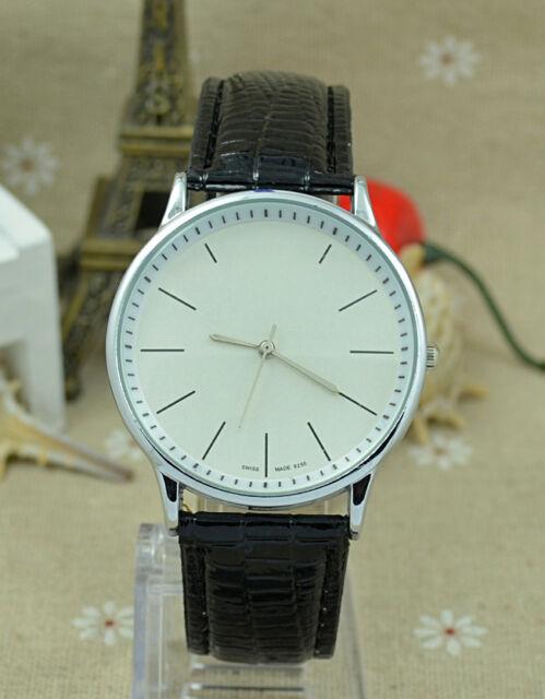 Fashion Brand Women's Girl leather strap quartz wrist watch C08