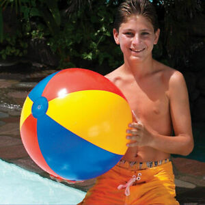 Swimline-Beach-Ball-24-034-61cm-Classic-Style-Kids-Pool-Toy-9001-Water-Beach