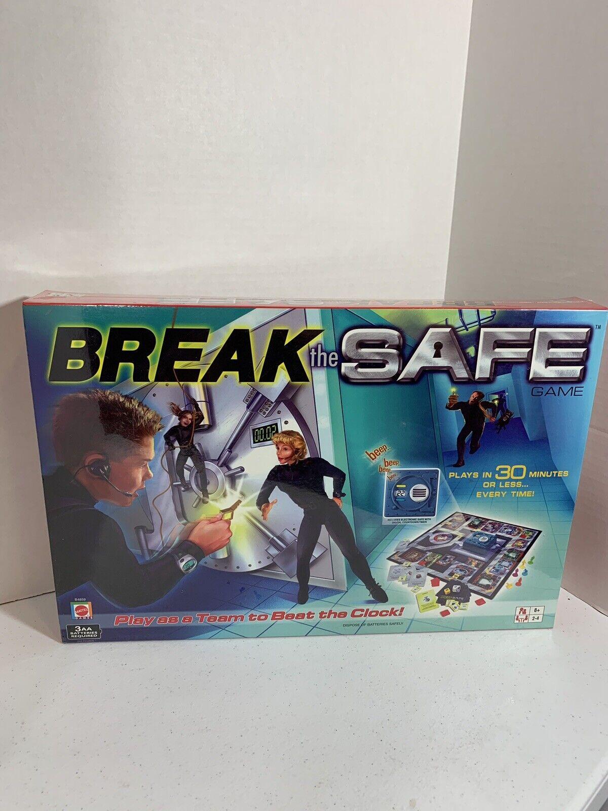 Break the Safe  tavola gioco ages 8 e Up 2-4 players nuovo in scatola  moda classica