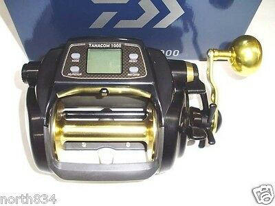 Daiwa 14 TANACOM 1000 Electric Power Assist Reel New!