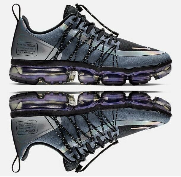 NIKE AIR VAPORMAX RUN UTILITY MEN'S RUNNING blueE DUSK - BLACK - ANTHRACITE NEW