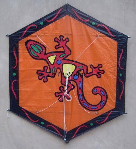 tessuto * 106310 AQUILONE ROKKAKU geko Aquilonerokkalu esagonale in spinnaker