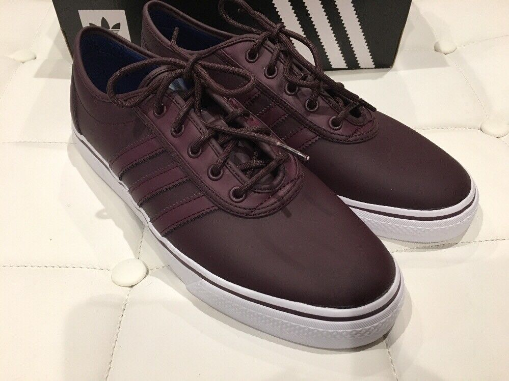 Adidas Mens Adi-Ease shoes Size 10.5 Dark Burgundy