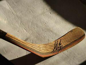 Eric Desjardins AUTOGRAPHED HOCKEY STICK NHL PHILADELPHIA FLYERS 1990's