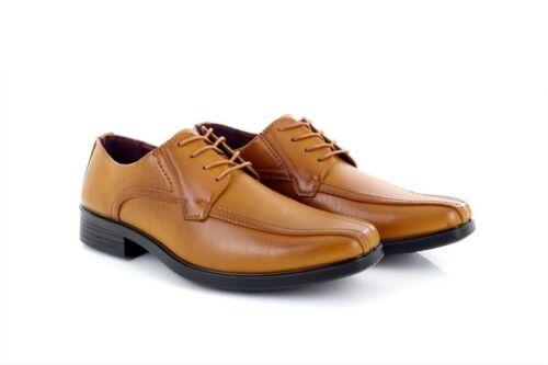 Mens Shoe Avenue CALLUM Tan Leather Lace Up Shoes