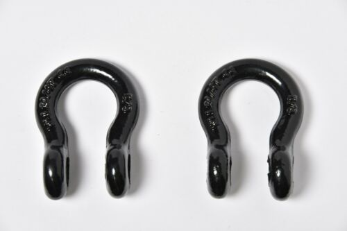 """10x 5//8/"""" Lift Tow Bow Shackle DRing+3//4/"""" Screw Pin WLL 7000lbs 3.25T Multi-Color"""