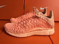 Nike Free Inneva Woven Tech Sp Trainers Uk 4 Eur 36.5 Sunset Orange 705797 888