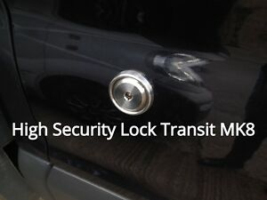 Instructions OMS Transit Custom 2012 onwards Hykee Anti Pick Door Security Lock With Bezel
