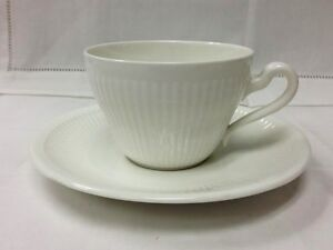 VILLEROY-amp-BOCH-034-ALLEGRETTO-034-TEACUP-amp-SAUCER-WHITE-VITRO-PORCELAIN-NEW-GERMANY