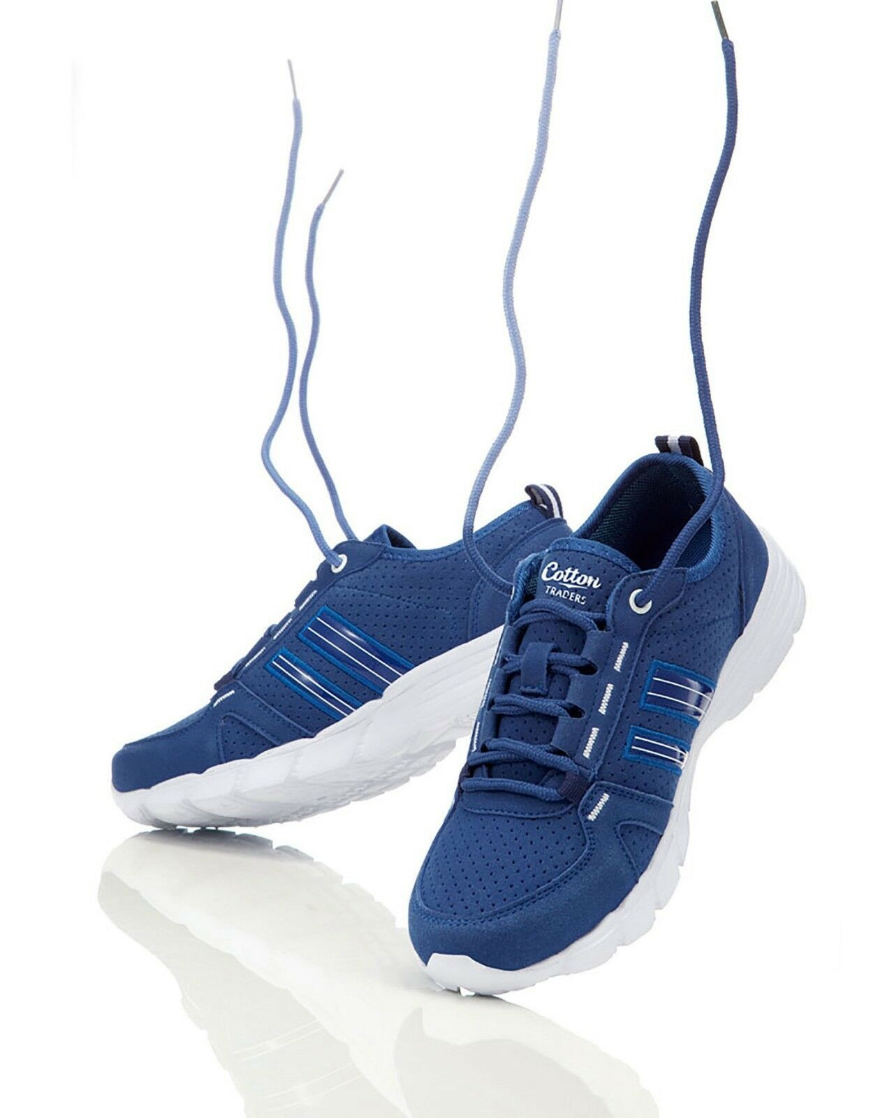 Cotton Traders incroyablement léger Chaussures Bleu-UK 6 EU 39 JS088 HH 05