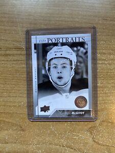 17-18-UD-Series-One-Charlie-McAvoy-UD-Portraits-Rookie-P-59-Bruins