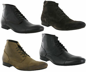 Base-London-Armstrong-Leather-Lace-Up-Fashion-Mens-Ankle-Boots-Size-6-12-UK