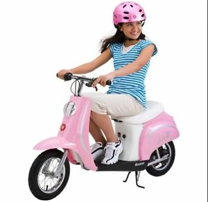 Razor Pocket Mod Bella Girls Electric Ride On Bike Retro