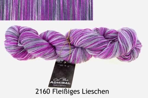 Admiral Cat Print Sockenwolle handgefärbt stricken 4fädig Schoppel Wolle