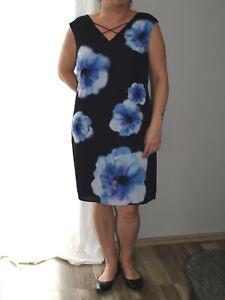 Comma Kleid Damen Dress Damenkleid Sommerkleid Gr. 40 (42 ...
