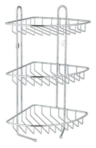 3TIER STAINLESS STEEL BATH CORNER SHOWER CADDY/RACK/STORAGE ...