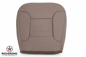 1996 ford bronco eddie bauer driver bottom replacement leather seat cover tan ebay. Black Bedroom Furniture Sets. Home Design Ideas