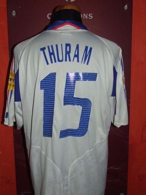 THURAM FRANCE FRANCIA EURO 2004 MAGLIA SHIRT CALCIO FOOTBALL JERSEY CAMISETA.