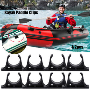 Kayak-Paddle-Clips-Buckles-Durable-Plastic-Oar-for-Kayaks-Rowing-Accessories