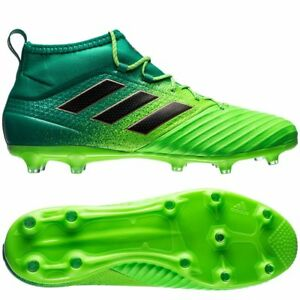 Details about adidas Ace 17.2 Primemesh FG / AG 2016 Soccer Cleats Shoes  Bright Green / Teal