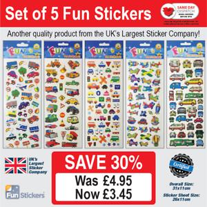 925 Fun Stickers Cars /& Transport: Set of 5-203 910 320 327