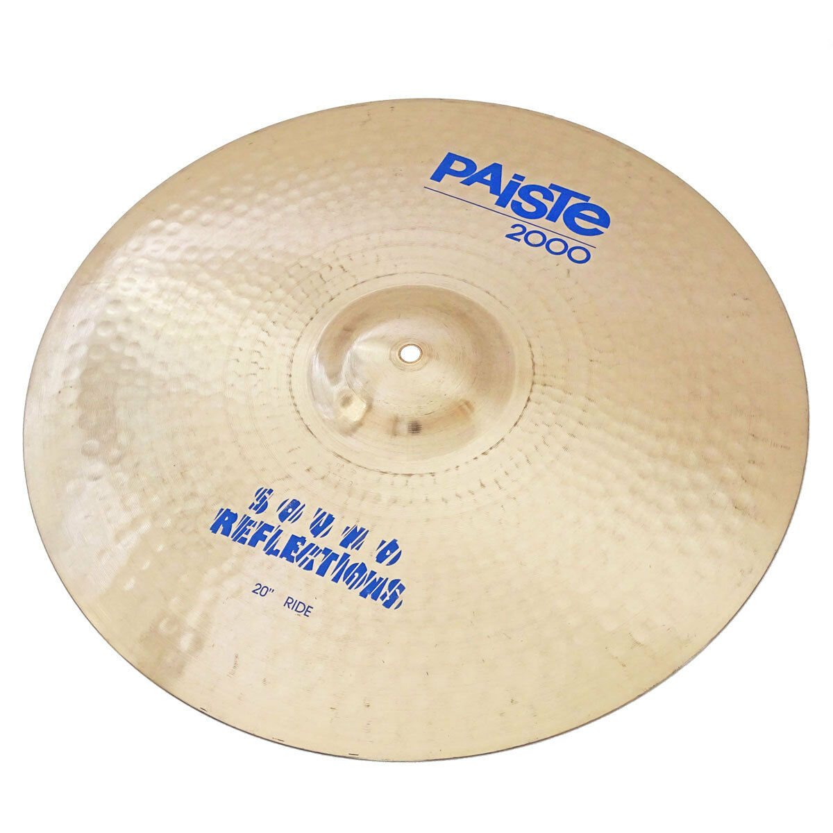 PAISTE 2000 Sound Reflections RIDE BECKEN 20  Ø 51 cm warmer, heller Klang