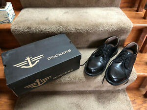 Dockers-Mens-Clearance-Burnett-Leather-Dress-Lace-up-Comfort-Oxford-Shoe