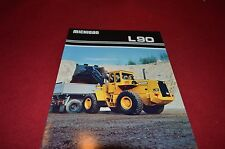 Michigan L90 Wheel Loader Dealer's Brochure DCPA4