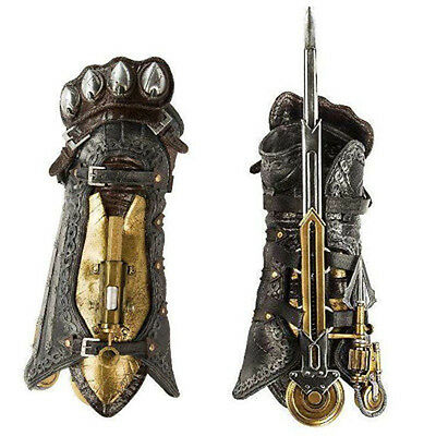 ASSASSIN'S CREED SYNDICATE LAMA PHANTOM HIDDEN BLADE GAUNTLET NEW COSPLAY