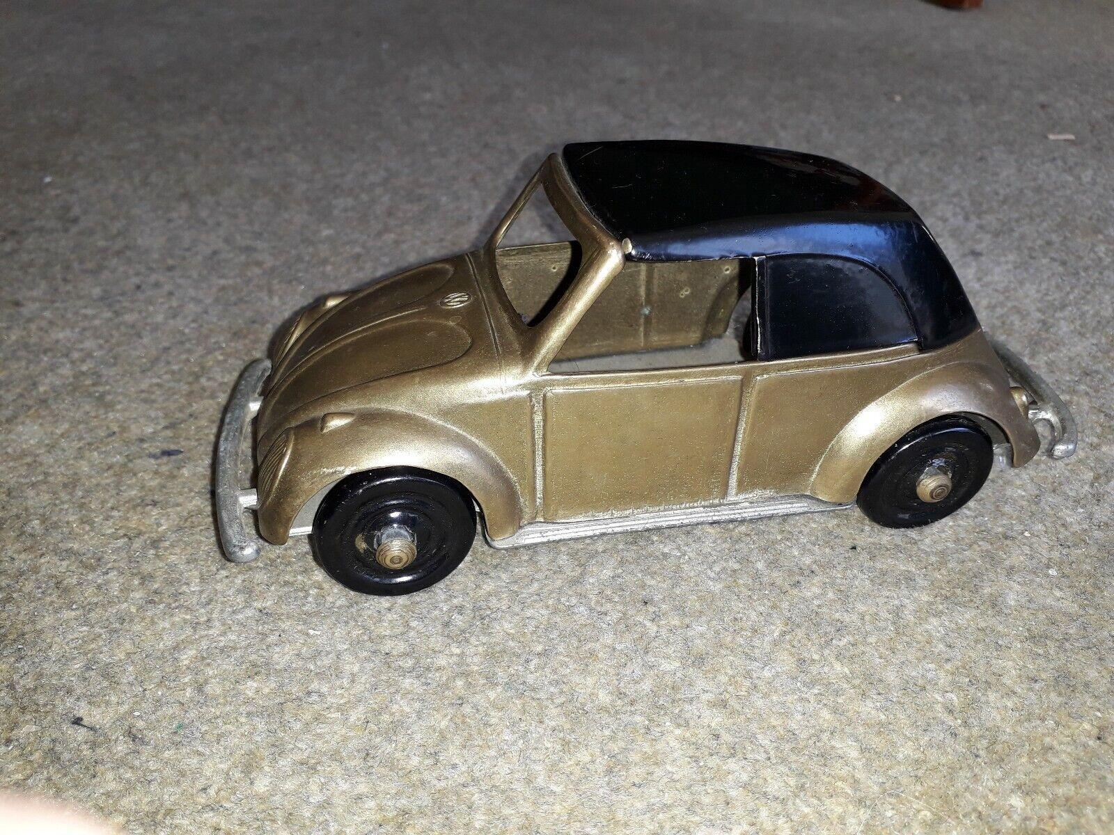 Splendido in ottone FAL modello VOLKSWAGEN 1935 MAGGIOLINO AUTO CONverdeIBILE  RARO